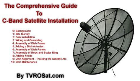 240cm 8ft c ku band prime focus mesh satellite dish package ebay