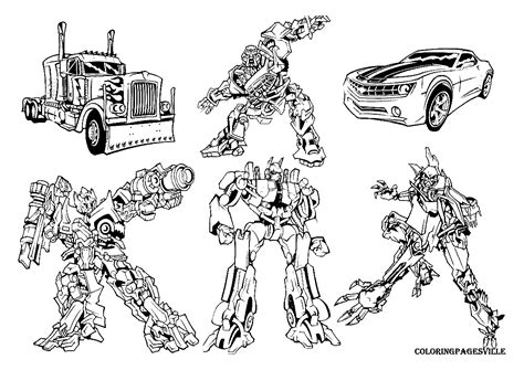 transformers coloring pages with names the transformers coloring pages