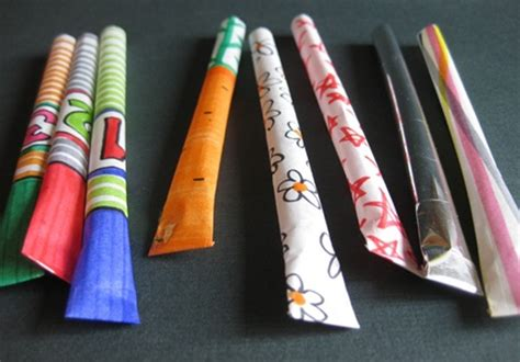 Paper Rockets - paper straw rockets crafts