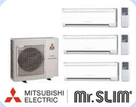 mitsubishi ductless mini split 16 0 seer 3 x 9 000 btu h