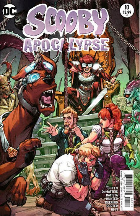 scooby apocalypse vol 1 scooby apocalypse vol 1 10 dc database fandom powered