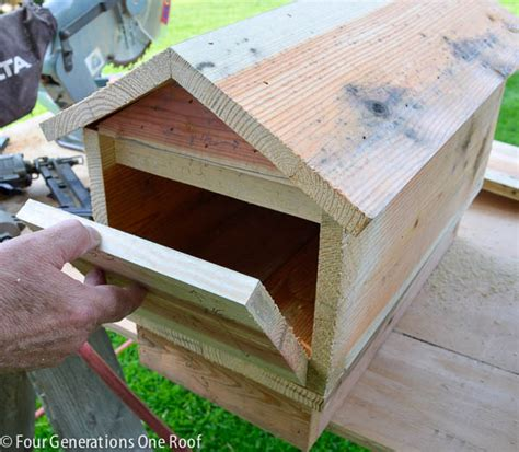 how to make a mailbox diy tutorial four generations one roof
