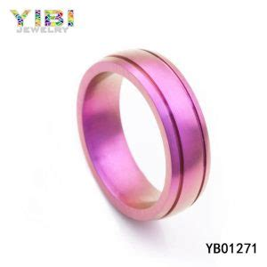 colored wedding bands colored titanium wedding bands jewelry factory china