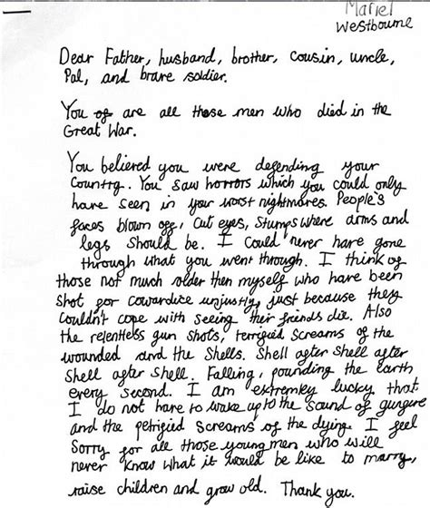 letters to soldiers examples best letter sample free