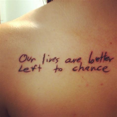 cnblue tattoo lyrics image gallery lyric tattoos