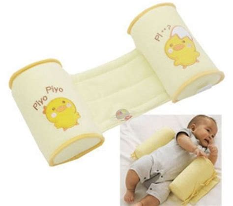 baby side pillow baby infant anti roll safe side sleeping pillow