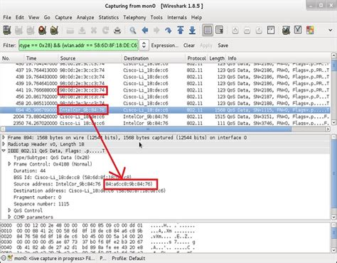 wireshark tutorial point wireless security access control attacks
