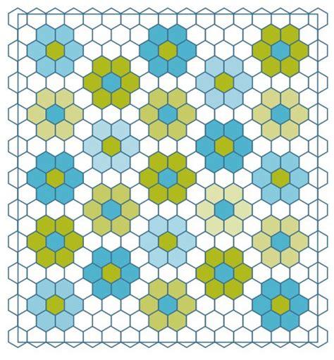 quilt hexagon template no fuss grandmother s flower garden quilt grandmothers