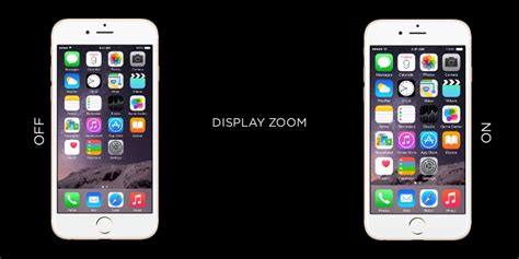 how to turn on display zoom on iphone 6 6 plus
