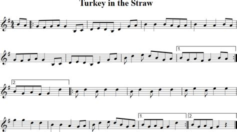 free printable sheet music turkey in the straw turkey in the straw free violin sheet music