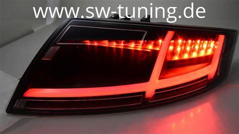 Audi Tt 8j Led Rückleuchten by Sw Celi Led R 252 Ckleuchten F 252 R Audi Tt Typ 8j Black 06 14 Sw