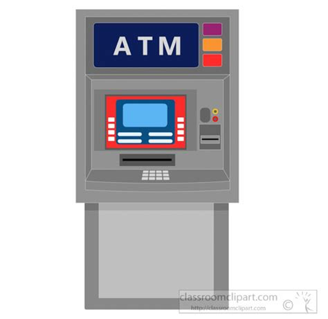 Atm Clipart inventions clipart automated teller machine clipart