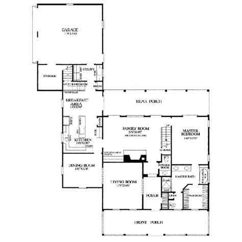 2500 sq ft country style house plan 3 beds 3 00 baths 2500 sq ft