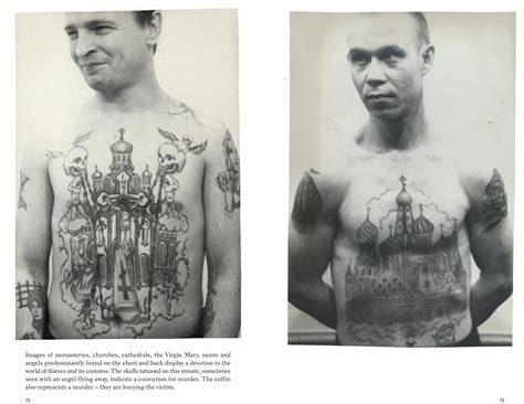 russian prison tattoos russian criminal files arkady bronnikov