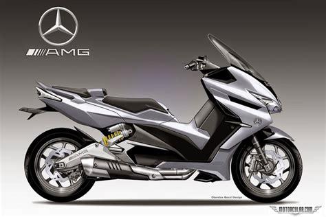 oberdan bezziden mercedes scooter konsepti motorcularcom