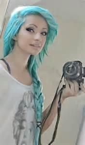 aqua blue hair color styles aqua blue hair color