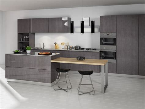 Modern Grey Kitchen Cabinets Winda 7 Furniture Grey Modern Kitchen Cabinets