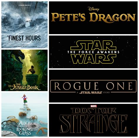 future disney film upcoming live action movies for disney marvel