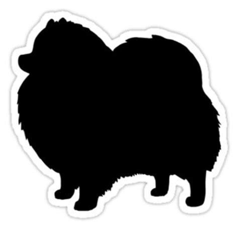 Ea Cutting Sticker Decal Code Is Mu3d F Musholla black pomeranian silhouette waterproof die cut sticker