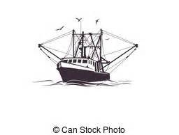 fishing boat clipart vector fishing boat illustration on boats stock illustration