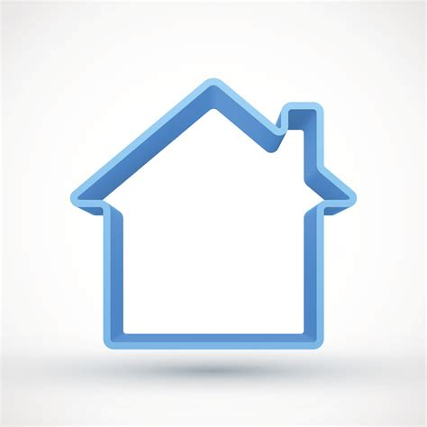 blue house outline 164724113 wzjvth clipart suggest