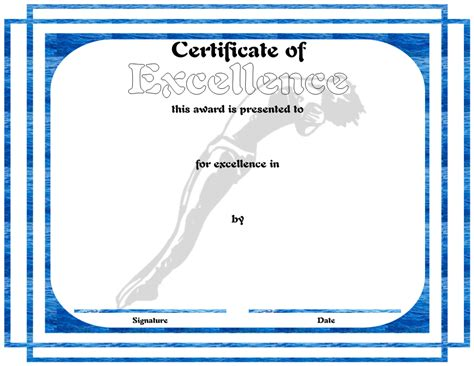 swimming award certificate template free swimming certificate sle for pdf