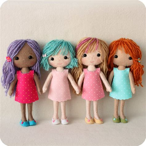 cute doll pattern love to do this with scraps from baby gingermelon dolls pocket poppet pattern winners