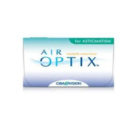 ciba vision air optix  astigmatism absolute optics