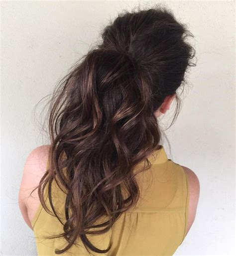 how to wear a ponytail at 40 40 easy and chic half ponytails for straight wavy and