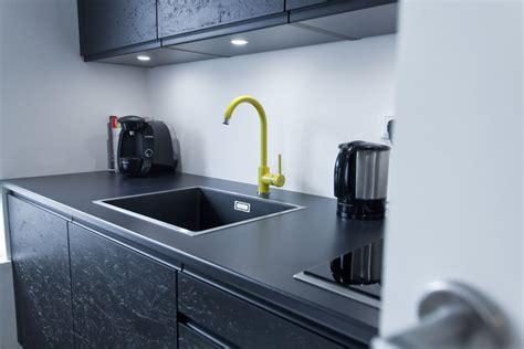 hochbett modern - Küche Schwarz Matt