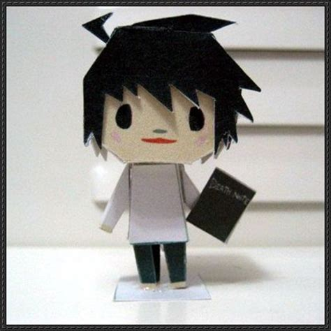 Note Papercraft - note l free paper