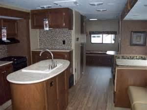 travel trailer with bunk beds and outdoor kitchen sport trek 320vik bunkhouse with kitchen island travel