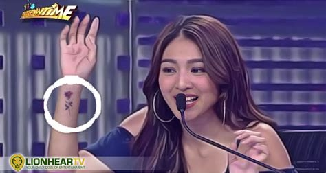 nadine lustre s tattoo questioned by netizens lionheartv