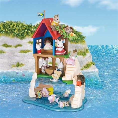 Wishbone Home Decor by Sylvanian Families Secret Island Playhouse
