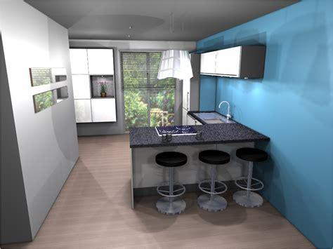 cuisine 駲uip馥 avec bar cuisine equipee avec bar maison design modanes com
