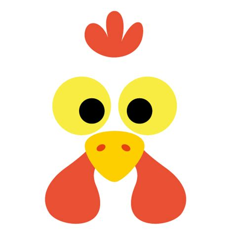 printable rooster mask printable chicken mask