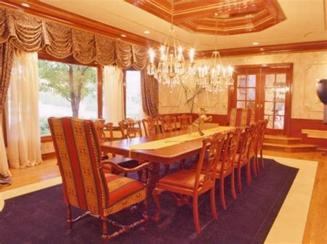 Yellow Dining Room Rugs 5 Grown Up Purple Interiors Color Palette And Schemes