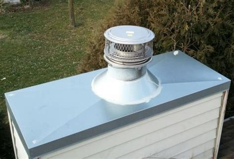 how to repair a chimney cap best image voixmag com