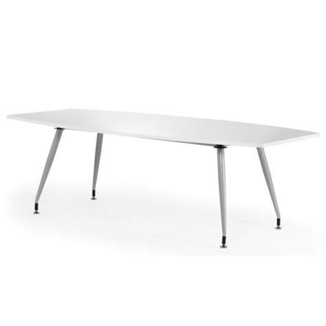 White Boardroom Table High Gloss White Boardroom Table Office Tables Uk