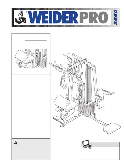 weider home wesy38322 user guide manualsonline