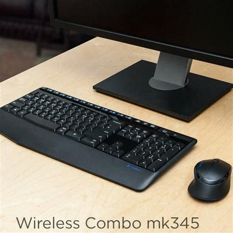 Logitech Mk345 Wireless Combo Keyboard Mouse logitech wireless keyboard mouse combo mk345 gaming mouse bluetooth bundles