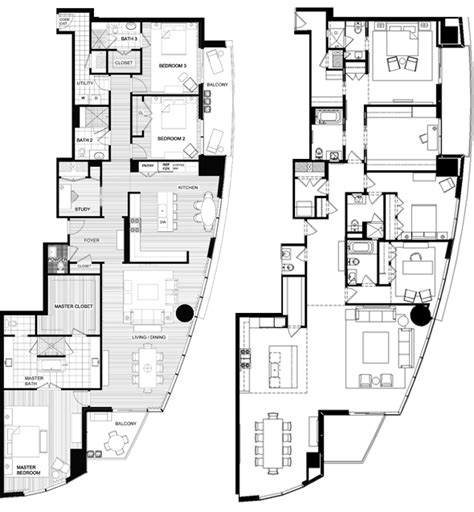 high rise floor plan high rise luxury condo in downtown austin offers homes