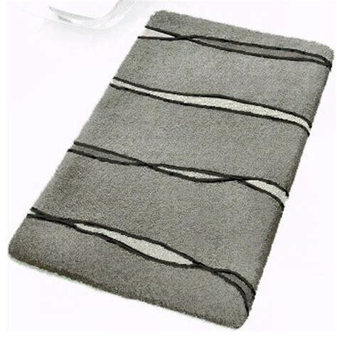 Oversized Bathroom Rugs Grey Contemporary Bathroom Rugs Flow Large Modern Bath Mats By Vita Futura