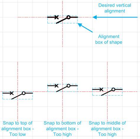 visio grid spacing microsoft visio align shapes to grid centre
