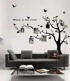 Wall Frame Stickers Memory Of Tree Covered Photo Frame Wall Sticker Tree