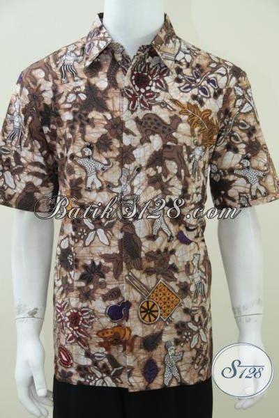 Top Quality Kemeja Lengan Pendek Kemeja Motif 49 jual kemeja batik baju batik lengan pendek untuk pria kantoran til modis trendy dan