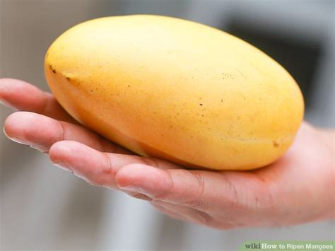 what color is a ripe mango how to ripen mangoes 9 steps with pictures wikihow