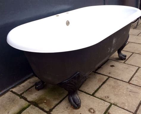 cast iron bathtub for sale victorian style cast iron reclaimed roll top bath with