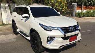 Toyota Fortuner Toyota Fortuner Muscles Up With Fiar Design Kit