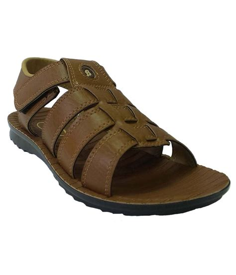 Bata Sandal bata brown faux leather sandals for price in india buy bata brown faux leather sandals for